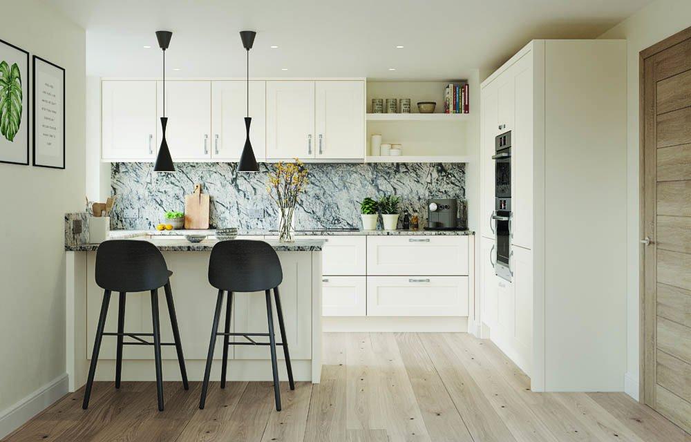 Belsay Porcelain & Dove Grey