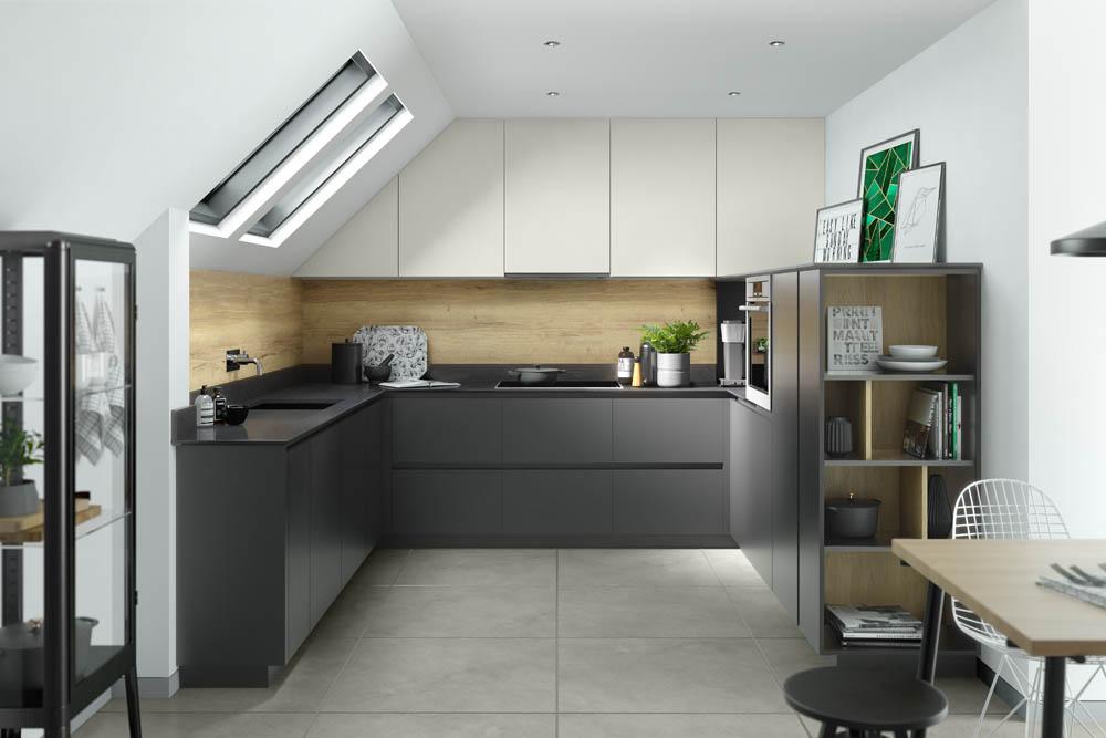 Graphite Supermatt & Light Grey Supermatt